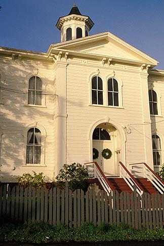 image 4-563-56 California, Bodega Bay, Bodega Schoolhouse Potter School, 1873, location for The Birds