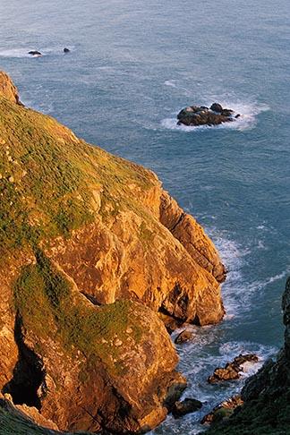 image 4-701-77 California, Marin County, Muir Beach coastline, rocky cliffs