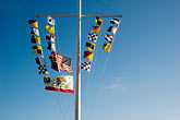 horizontal stock photography | Flags, Flags and banners on flagpole, image id 4-720-2617