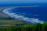 ocean stock photography | California, Point Arena, Manchester State Park. elevated view, image id 4-796-32