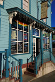 exterior stock photography | California, Point Arena, The Record, deli, market and cafe, image id 4-796-51