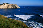 bluff stock photography | California, Point Arena, Coastal bluffs and Arena Cove, image id 4-796-6