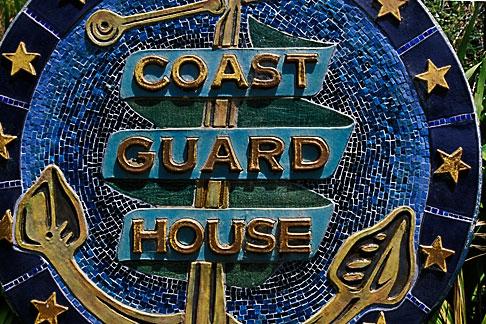 image 4-796-75 California, Point Arena, Arena Cove, Coast Guard House