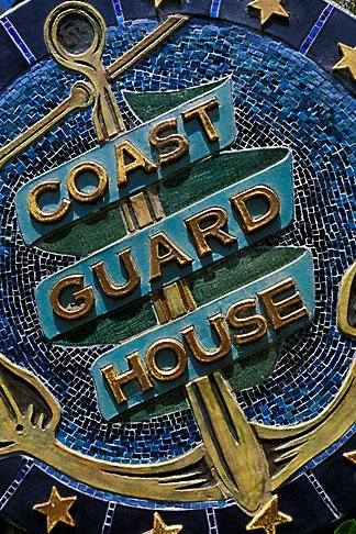 image 4-796-77 California, Point Arena, Arena Cove, Coast Guard House