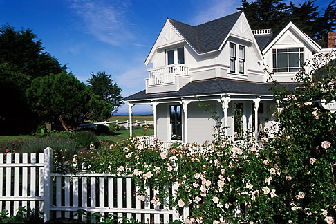 image 4-796-94 California, Mendocino County, Manchester, Inn at Victorian Gardens