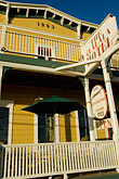 porch stock photography | California, Gualala, Gualala Hotel, image id 4-800-58