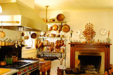 america stock photography | California, Mendocino County, Manchester, Inn at Victorian Gardens, kitchen, image id 4-800-7
