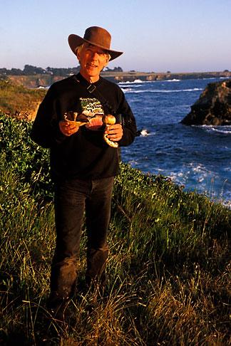 image 4-835-3 California, Mendocino, Taylor Lockwood, Mushroom photographer