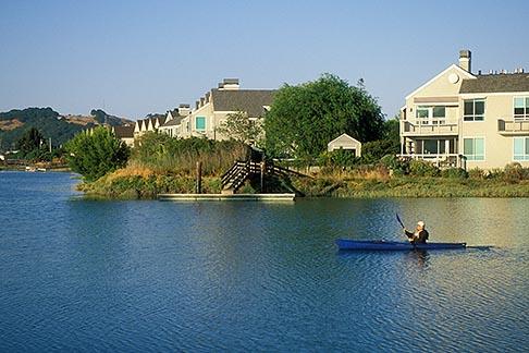 image 4-840-9 California, Marin County, Larkspur, Kayaking