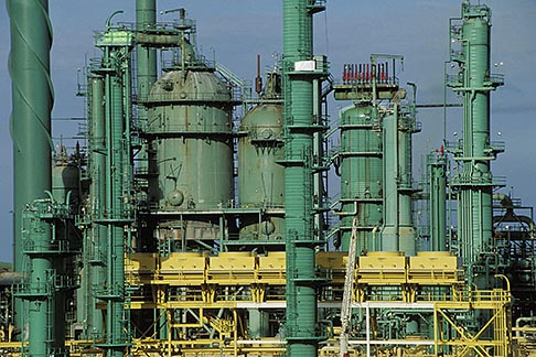 image 4-90-36 Oil Industry, Oil refinery
