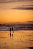 two people stock photography | California, Pacific Grove, Asilomar State Beach, sunset, image id 4-987-14