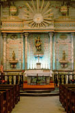 vertical stock photography | California, Missions, Altar, Mission San Miguel Arcangel, image id 5-118-26