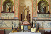 horizontal stock photography | California, Missions, Altar, La Purisima Mission, 1787, image id 5-122-27