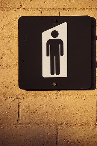 image 5-168-11 California, Mens sign
