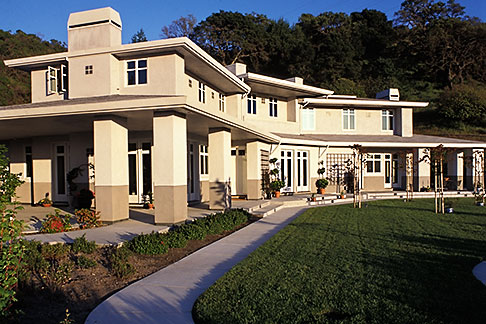 image 5-233-33 California, Lafayette, Thornburgh House, Scott Sullivan architect