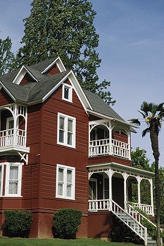 image 5-640-15 California, Mendocino County, Navarro, Victorian house