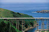 water stock photography | California, Mendocino County, Albion River Bridge, image id 5-640-78