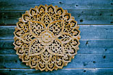 embellishment stock photography | California, Mendocino County, Teak mandala, image id 5-641-93