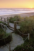 shore stock photography | California, Santa Cruz County, Pajaro Dunes, Sunset and boardwalk, image id 5-670-77