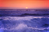 wave stock photography | California, Pacific Ocean at sunset, image id 5-673-82