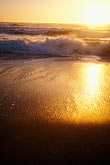 wave stock photography | California, Moss Landing, Salinas River State Park, Beach at sunset, image id 5-673-94