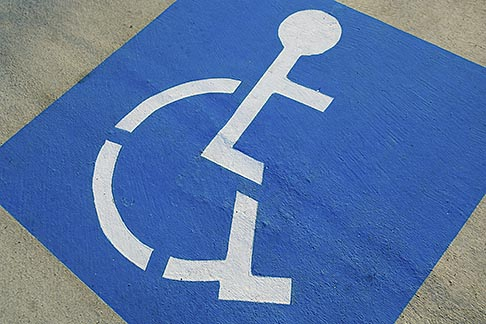 image 5-809-1469 Signs, Handicapped parking