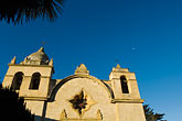 facade stock photography | California, Carmel, Carmel Mission Church , image id 5-810-1490