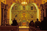 horizontal stock photography | California, San Francisco, Morning eucharist, Mission Dolores, image id 5-89-27