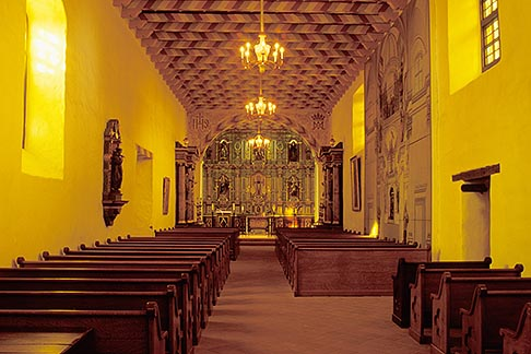 image 5-90-37 California, San Francisco, Interior, Mission Dolores