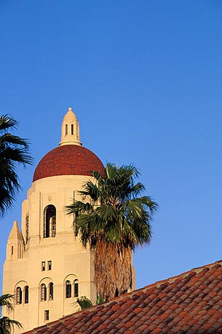 image 6-134-28 California, Palo Alto, Stanford University, Hoover Tower
