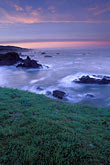 sunset on beach stock photography | California, Sonoma County, Dawn on Sonoma Coast, image id 6-145-14