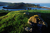 rock stock photography | California, Sonoma County, Morning light, Russian River, Jenner, image id 6-146-17