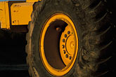 horizontal stock photography | California, Payloader wheel, image id 6-192-14