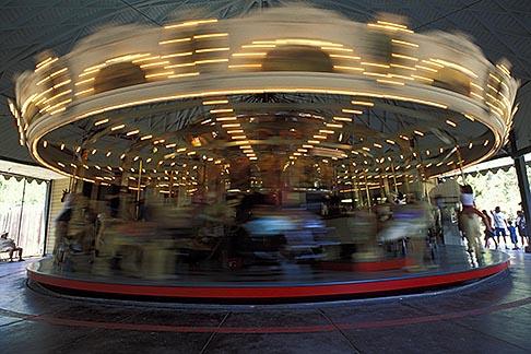 image 6-273-1 California, Berkeley, Merry go round, Tilden Park