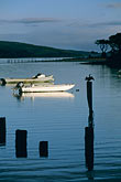 tranquil stock photography | California, Tomales Bay, Boats on the Bay at Marshall, image id 6-420-51