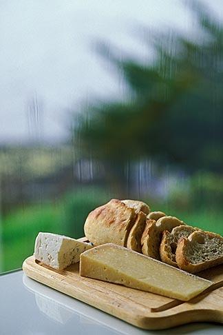 image 6-420-65 California, Marshall, Sonoma bread and cheeses