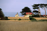tree stock photography | California, Mendocino County, Point Cabrillo Lighthouse, image id 6-480-20