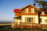 hotel stock photography | California, Mendocino County, Lighthouse Inn at Point Cabrillo, image id 6-480-24