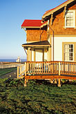 hotel stock photography | California, Mendocino County, Lighthouse Inn at Point Cabrillo, image id 6-480-26