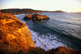 spray stock photography | California, Mendocino , Mendocino Headlands State Park, Coastal bluffs, image id 6-486-2