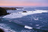 dusk stock photography | California, Mendocino , Mendocino Headlands State Park, Coastal bluffs, image id 6-486-8