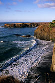 spray stock photography | California, Mendocino , Mendocino Headlands State Park, Coastal bluffs, image id 6-487-54