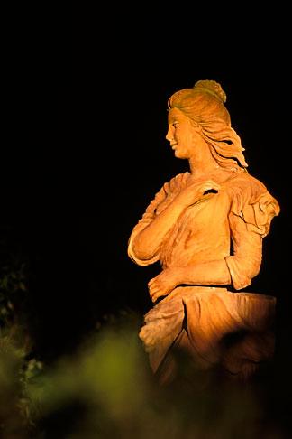 image 7-497-8 Art, Statue of Diana, Villa Narcissa