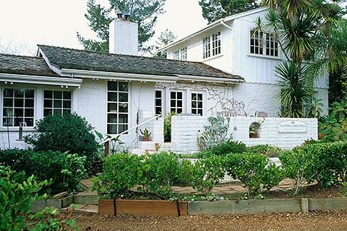 image 7-600-46 California, Santa Cruz, The Adobe on Green Street