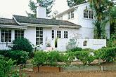 garden stock photography | California, Santa Cruz, The Adobe on Green Street, image id 7-600-46