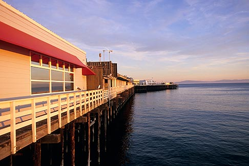 image 7-601-43 California, Santa Cruz, Santa Cruz Wharf