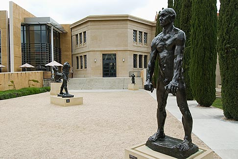 image 7-660-4989 California, Palo Alto, Cantor Arts Center, Rodin Collection, Stanford University campus