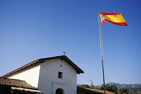 image 9-575-30 California, Santa Barbara, El Presidio de Santa Barbara, State Hist Park