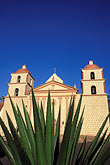 el camino real stock photography | California, Missions, Mission Santa Barbara, image id 9-575-47