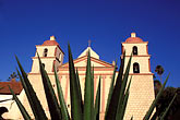 el camino real stock photography | California, Missions, Mission Santa Barbara, image id 9-575-48